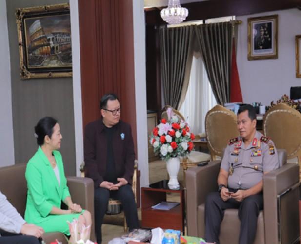 Konjen Tiongkok Buka Peluang Kerja Sama dengan Polda Lampung