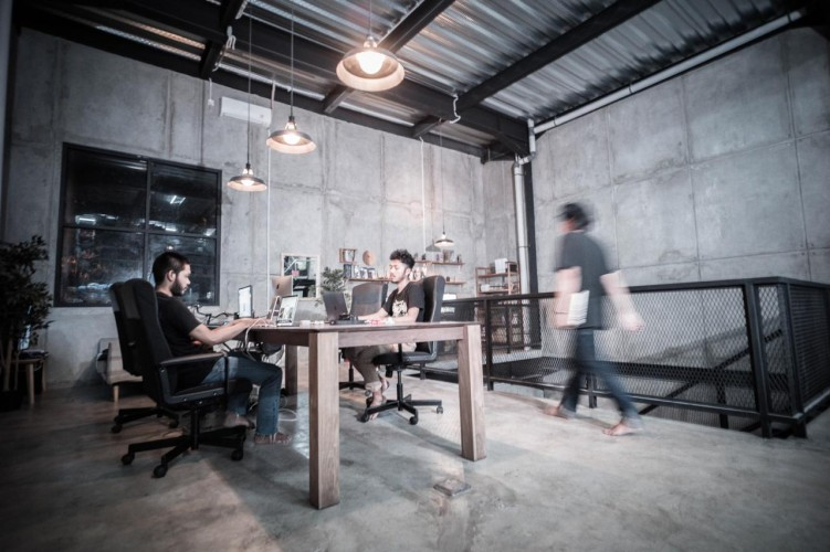 Konsep Kantor Industrial Thanksinsomnia Menarik Pelanggan