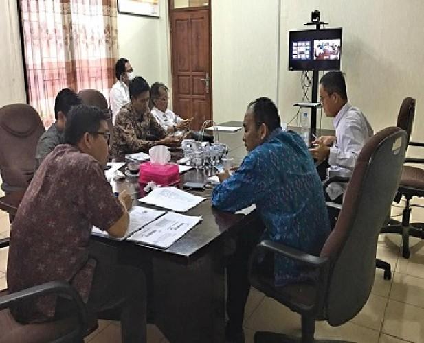 Koordinasi KPU Dilakukan melalui Telekonferensi