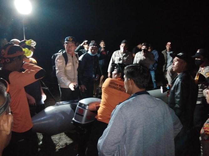 Korban Hanyut di Way Tenumbang Belum Ditemukan