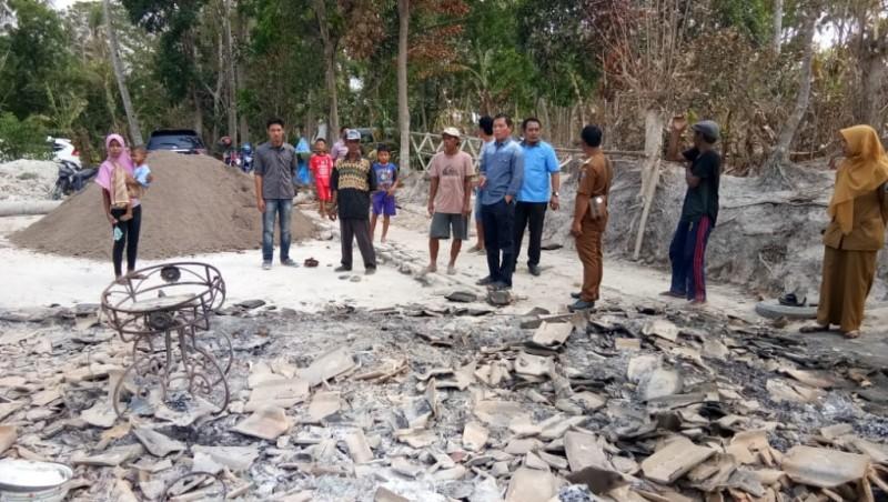 Korban Kebakaran di Palas Dapat Bantuan