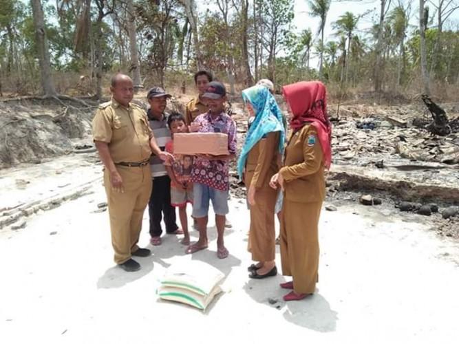 Korban Kebakaran di Palas Menjadi Perhatian Sejumlah Pihak