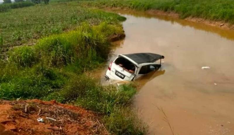 Korban Tewas Mobil Masuk Sungai di Simpang Penawar Jadi 2 Orang