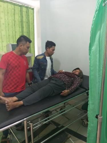 Korban Penusukan Mantan Suami Dirujuk ke Lamteng
