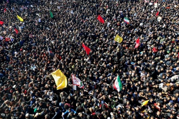Korban Terinjak-injak di Pemakaman Soleimani Jadi 50 Orang