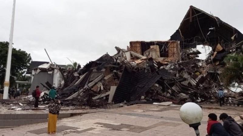 Korban Tewas Gempa Sulawesi Capai 34 Orang