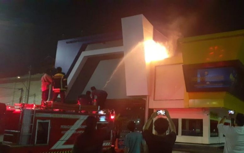 Korsleting Listrik Nyaris Bakar Gedung Command Center Mapolresta