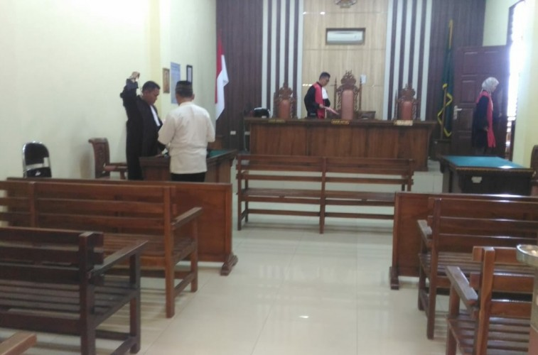 Korupsi Dana Desa, Kades di Mesuji Dituntut 15 Bulan Penjara