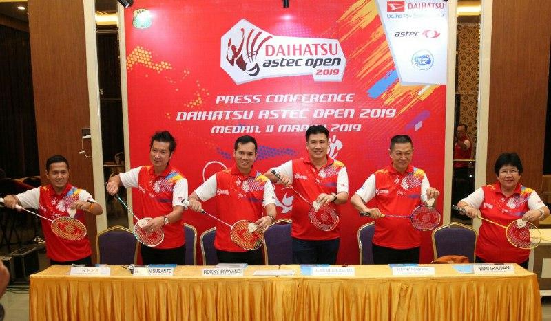 Kota Medan Jadi Pembuka Turnamen Daihatsu Astec Open 2019
