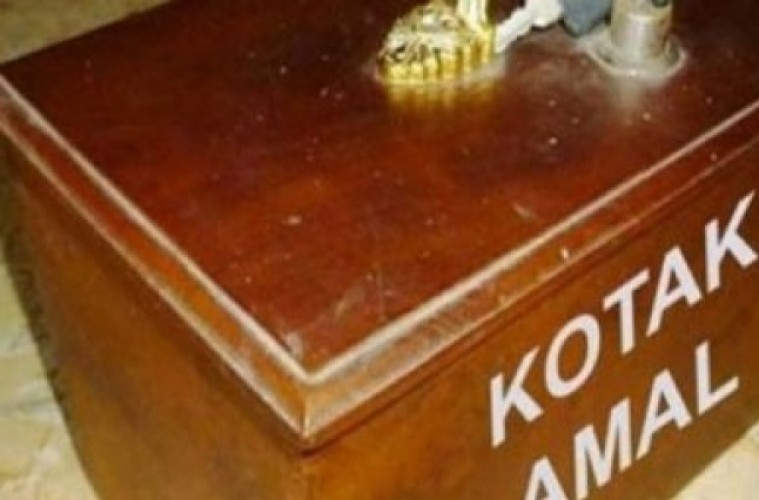 Kotak Amal di Lampung Mulai Didata