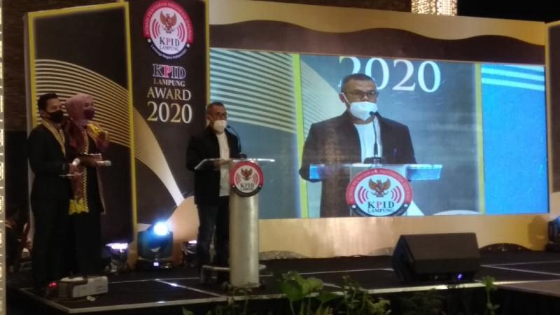 KPID Lampung Award Sebagai ApresiasiSiaran Berkualitas di Tengah Pandemi