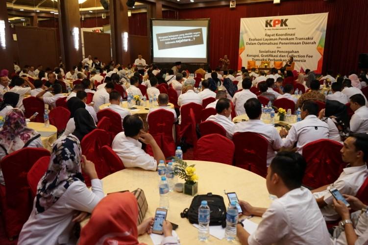 KPK Peringatkan Perbankan di Lampung