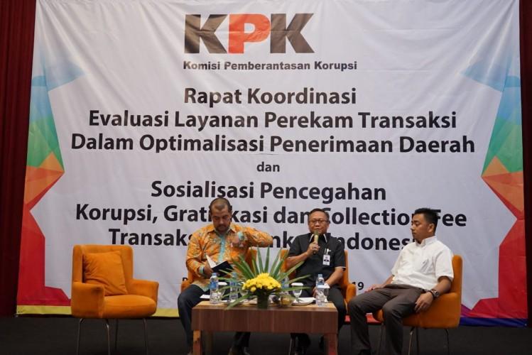 KPK Perkuat Pengawasan <i>Tapping Box</i> untuk Pengusaha di Lampung