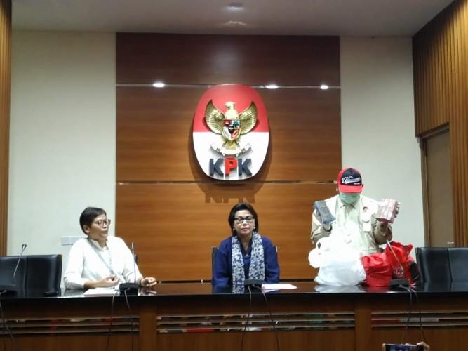 KPK Sebut OTT Bupati Lamsel Atas Laporan Masyarakat