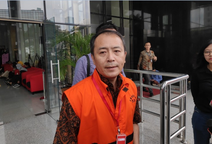 KPK Selisik Isi Pertemuan James Riady dengan Neneng