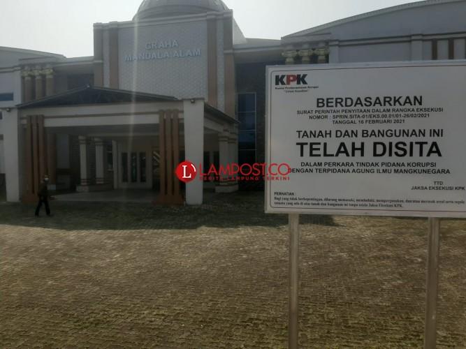 KPK Sita Aset Mantan Bupati Lampung Utara