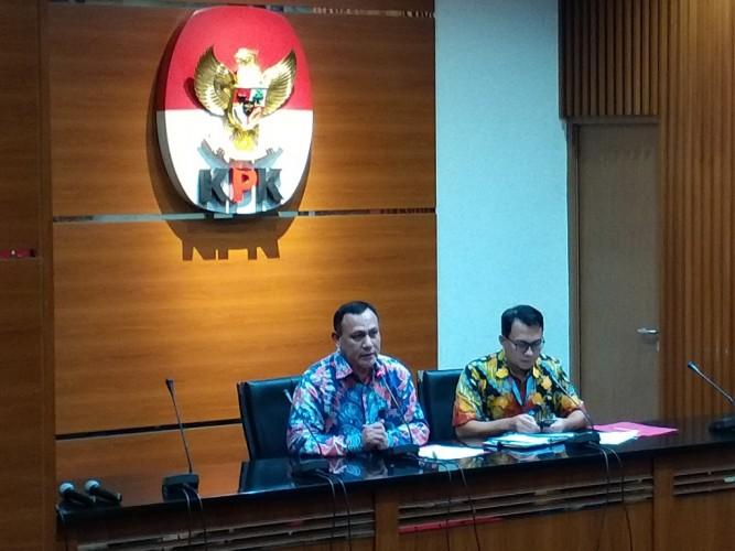 KPK Tetapkan 10 Tersangka Kasus Korupsi Proyek Jalan