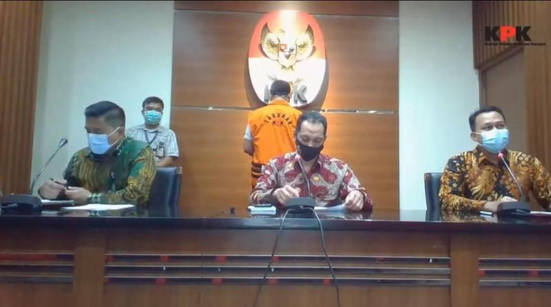 KPK Tetapkan Syahroni Tersangka Fee Proyek Pemkab Lamsel