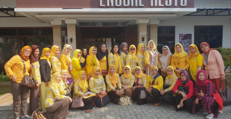 KPPG Lampung Ajak Jajarannya Menangkan Caleg Golkar