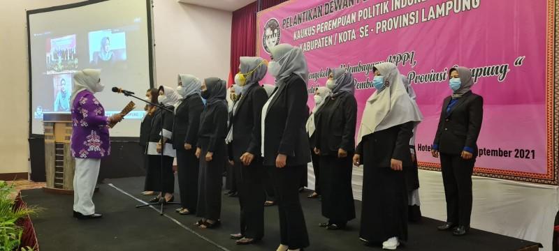 KPPI Lampung Dorong Keterwakilan 30 Persen Perempuan di Parlemen