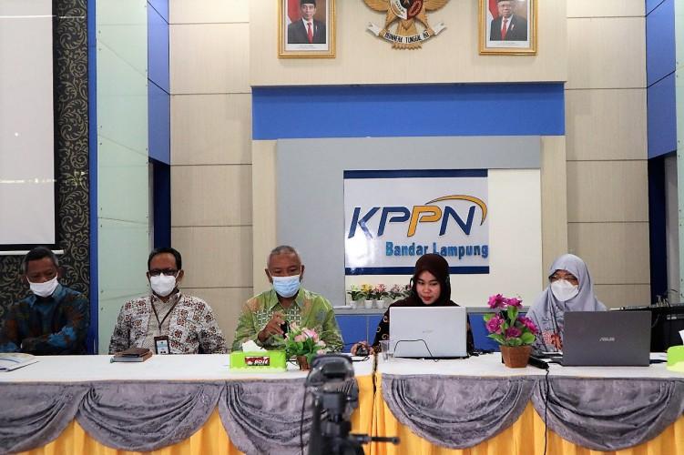 KPPN Bandar Lampung Sosialisasi Pedoman LLAT 2021