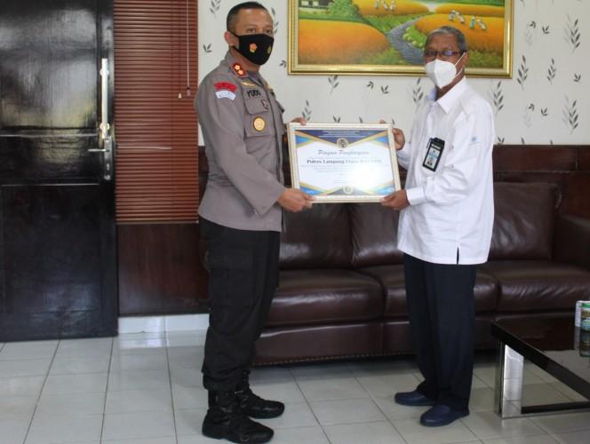 KPPN Kotabumi Berikan Apresiasi Kinerja Pelaksanaan Anggaran