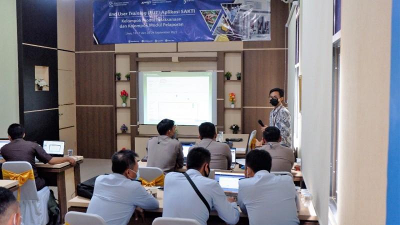 KPPN Liwa selenggarakan <i>End User Training</i> (EUT) bagi Para Satuan Kerja Pengguna Aplikasi SAKTI di Lingkup Kerjanya
