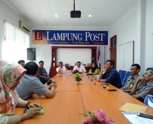 KPU Bandar Lampung Gandeng Media untuk Jaga Profesionalitas