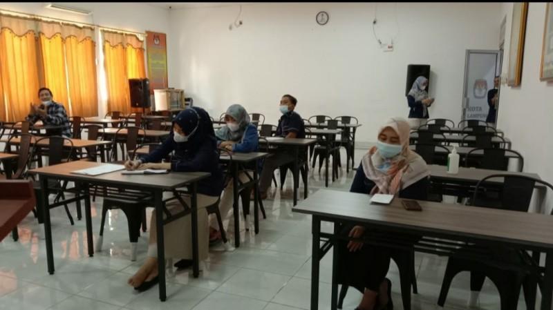 KPU Bandar Lampung Gelar Rapat Rekapitulasi Daftar Pemilih Berkelanjutan