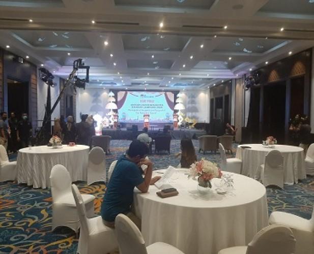 KPUBandar Lampung Menggelar Geladi Resik Mematangkan Persiapan Debat Perdana
