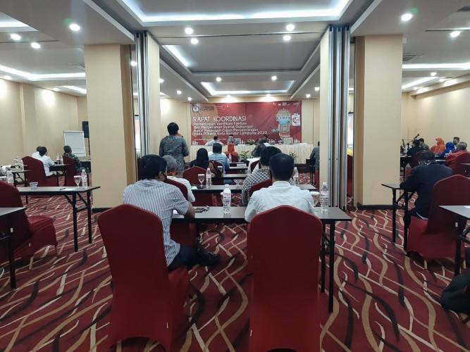 KPU Bandar Lampung Mulai Verifikasi Faktual