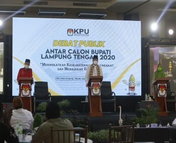 KPU Gelar Debat Kandidat Bupati Lamteng