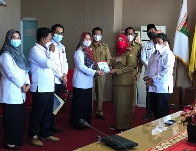 KPU Kembalikan Sisa NPHD Rp4,4 Miliar ke Pemkot Bandar Lampung
