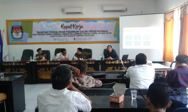 KPU Kota Bahas Tahapan Pencalonan Perseorangan Pada Pilwalkot
