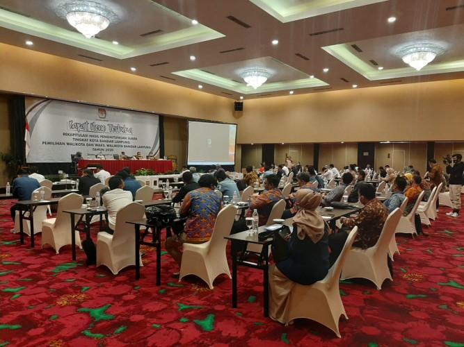 KPU Kota Jamin Kesterilan Pleno Rekapitulasi dari Covid-19