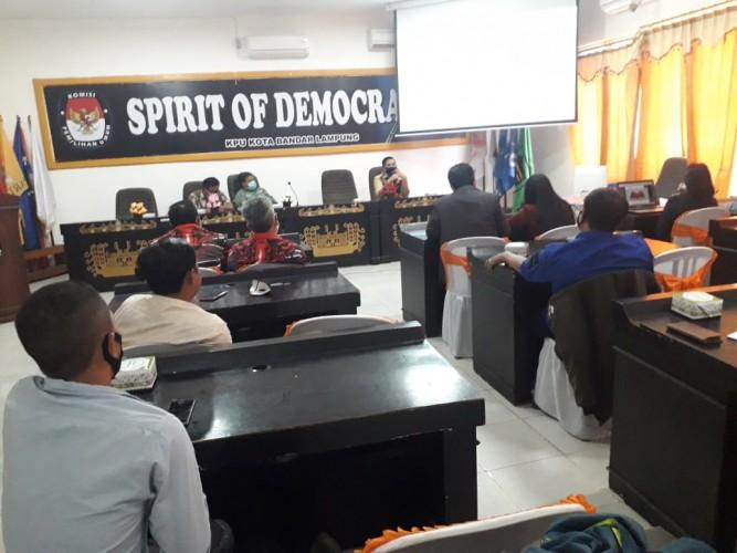 KPU Kota Perketat Prokes di Debat Publik Kedua