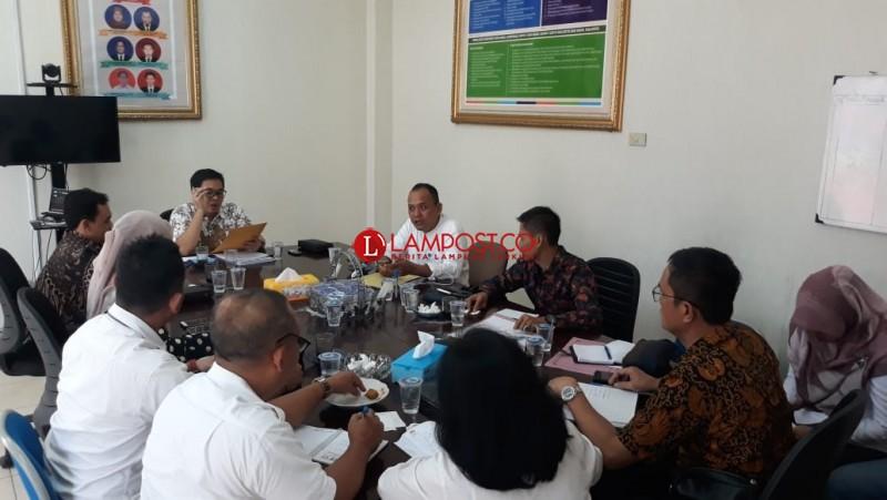 KPU Lampung Berbagi Divisi dan Korwil