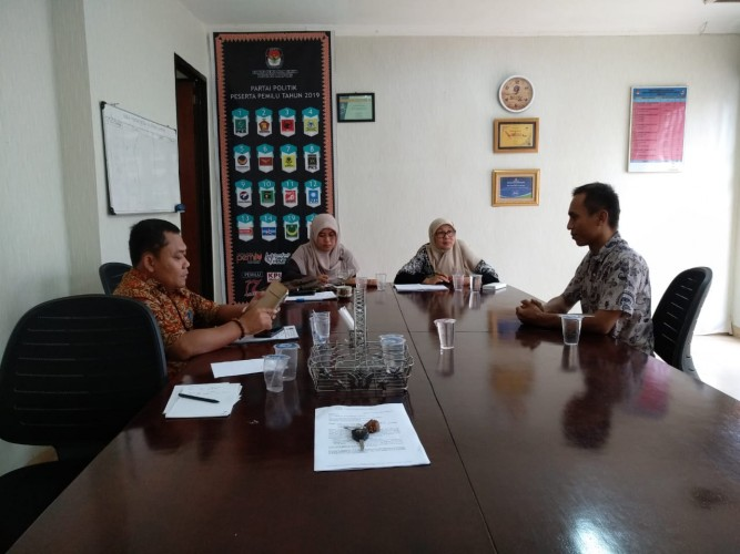 KPU Lampung Kembali Klarifikasi Anggota PPK Lampung Selatan