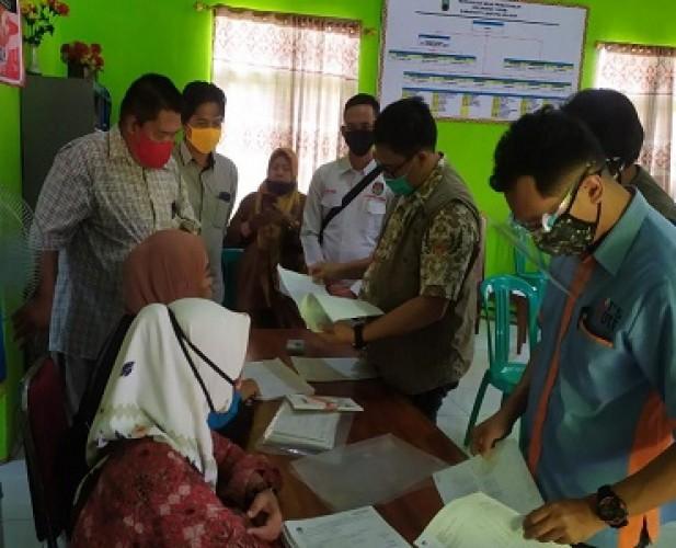 KPU Lampung Pantau Pelaksanaan Coklit oleh PPDP