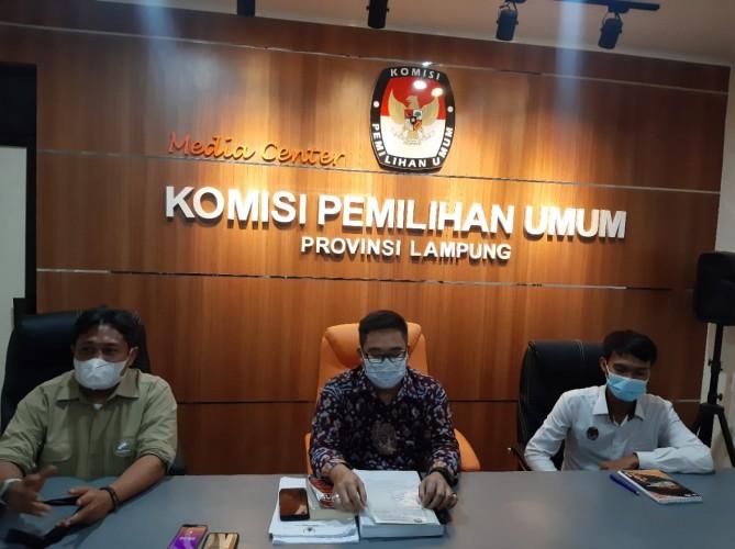 KPU Lampung Tunggu Arahan Pusat Tanggapi Putusan Bawaslu