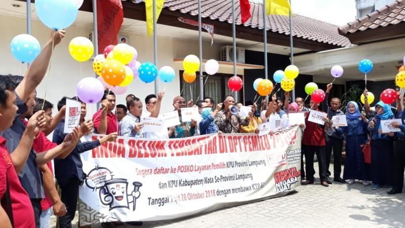KPU Launching Gerakan Melindungi Hak Pilih