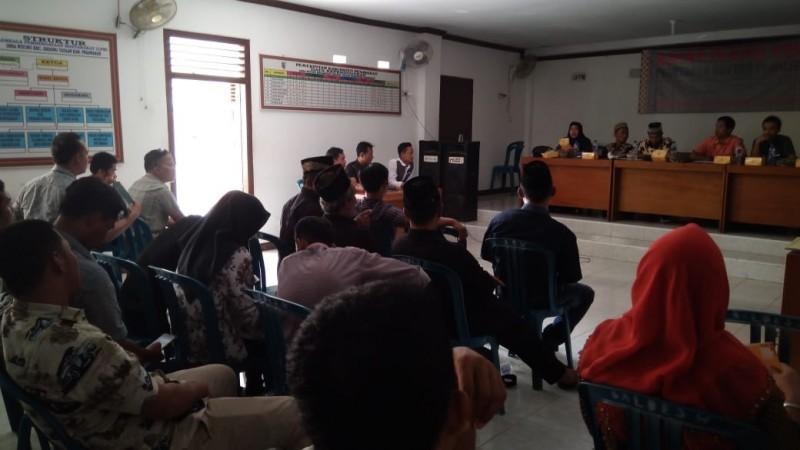 KPU Pesawaran Gelar Sidang Pleno DPS Pemilu Legeslatif