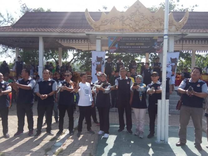 KPU Pesisir Barat <i>Launching</i> Pilkada 2020
