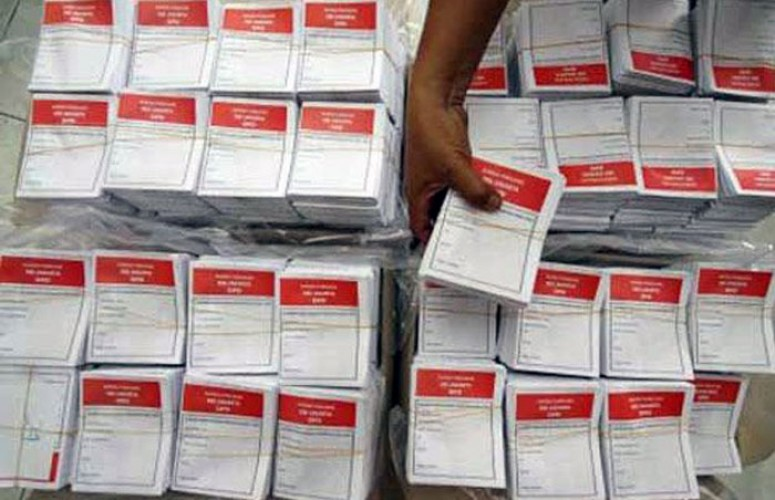 KPU Pesisir Barat Lakukan Persiapan Pelipatan Surat Suara Jelang Pemilu