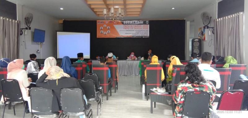 KPU Sosialisasikan PKPU Nomor 18 Tahun 2020