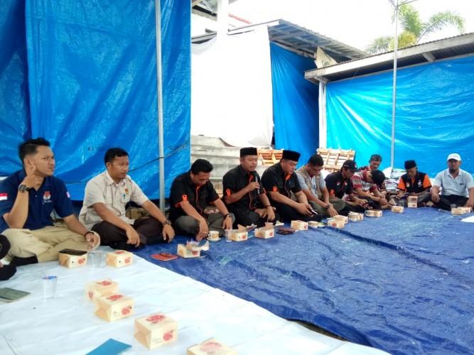 KPU Way Kanan Gelar Apel Serentak dan Doa Bersama