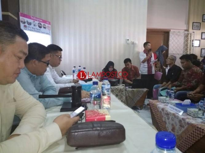 KPU Way Kanan Gelar Pleno DPS Pemilu 2019