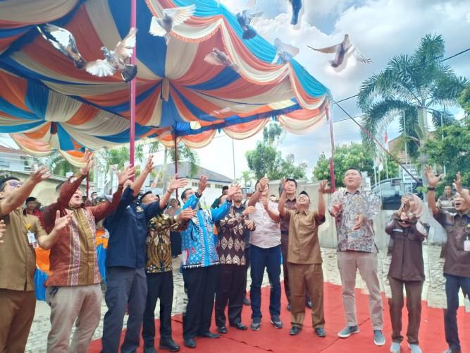 KPU Way Kanan Luncurkan Pelaksanaan Pilkada Serentak 2020