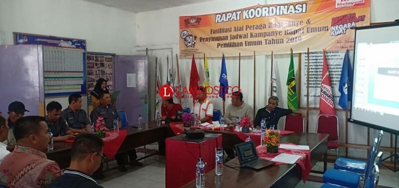 KPUD Tubaba Minta Parpol-Timses Segera Setor Daftar Susunan Tim Kampanye dan Desain APK