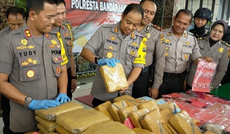 Kriminalitas di Bandar Lampung Tahun 2019 Meningkat
